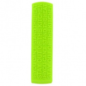 New Zeal Lime Green Funky Heat Resistant Silicone Secure Grip Pan Handle Cover
