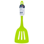 New Zeal Kitchen Green Silicone Cooks Slotted Turner Essential Cooking Utensil