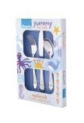 Amefa Kids Splash Kids Cutlery Set Stainless Steel 3 Piece