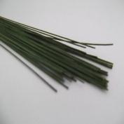 Culpitt 22 Gauge Dark Green Florist Wires - Sugar Flowers