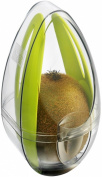 Tomorrow's Kitchen Kiwi Guard / Protector with Cutlery Set - Transparent / Green