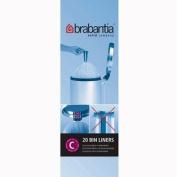 Brabantia 12L Refuse Bin Liner 20s