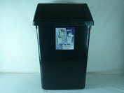 30L Quartz Black Tip Top Bin