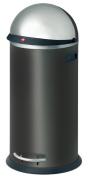 Hailo 0850-459 Large Volume 'KickVisier 50' Bin Black