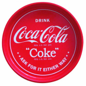 Coca Cola Round Metal Drinks Tray