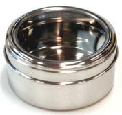 Birambeau - 5218 - Stainless Steel Container with Transparent Lid