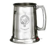 Galbraith Clan Crest Tankard 1 Pint Pewter