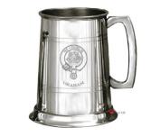Graham Clan Crest Tankard 1 Pint Pewter