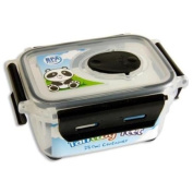 Paws The Panda Fantasy Feet Plastic Small Snack Container