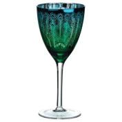 Artland Peacock Wine Glass