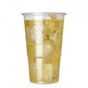 100 x STRONG HALF PINT PLASTIC GLASSES CUPS. Perfect for any Party.