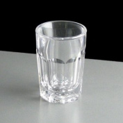 Virtually Unbreakable Plastic Remedy Shot Glasses 25ml CE Marked