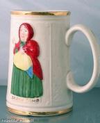 Bygone c1940 Staffordshire Tankard Sarah Gamp Dickens - CLT41 / CLT131