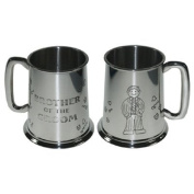 Brother of the Groom Pewter Tankard 1 Pint