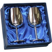 Stainless Steel Wine Goblets in gift box