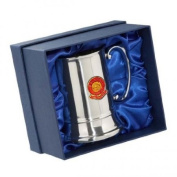 Bristol City 'The Robins' Football Club Stainless Steel Tankard Engraved FREE