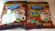 Maxwell House White Coffee & Sugar 7.6cm 1 - 2 x 10 sachets