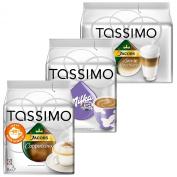 Tassimo Cream Collection, 3 Varieties, 48 T-Discs