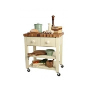T & G Woodware New England Kitchen Trolley, Assembled