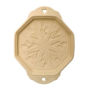 Shortbread Baking stone - 20cm mould with thistle pattern