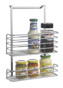Metaltex Galileo Double Basket Kitchen Storage Unit