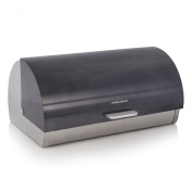 Morphy Richards Accents Roll Top Bread Bin - Black