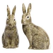 Quail Ceramics - Wild Rabbit Salt And Pepper Pots