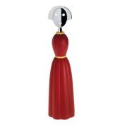 A di Alessi Anna Pepper Pepper Mill, Red,