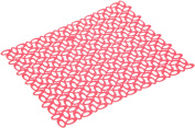 Mastrad F88510 Lace Sink Mat, XL, Red