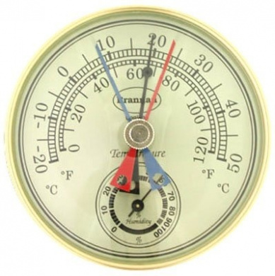 Brannan 12/413 Dial Max Min Thermometer+Humidity