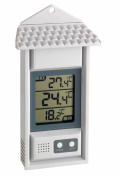 Min Max White Housed Digital Thermometer perfect for Gardens, Greenhouses & Grow rooms