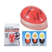 Magic Colour Changing Egg Timer Time Kitchen Gadget Cook Boil Eggs Thermometer
