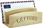 Rubber Wood Letter Rack