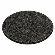 Chiazze Chopping Board With Speckled Black Granite & Round Shape