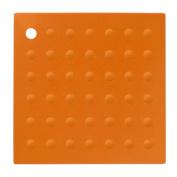 Premier Housewares Zing Silicone Trivet, Orange