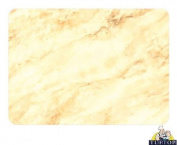 Premium Large Glass Chopping Board - Alabaster Design Kitchen Worktop Saver Protector