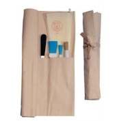 Canvas Knife Knives Wallet / Case - 10 Compartment - keep your knives safe while they are being stored or transported!