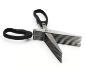 5 Blade Security Shredding Scissors Stainless Steel Blades Secure Your Information
