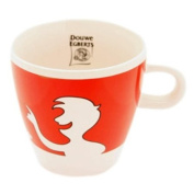 Douwe Egberts Design Coffee Cup People, Red