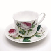 Roy Kirkham Redoute Rose Cup & Saucer
