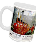 Beefeaters the Tower of London - White Mug