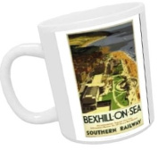 Bexhill-on-sea from air - White Mug