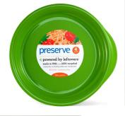 Preserve Large Plates, Set of 4, Apple Green