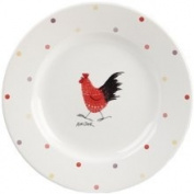 Alex Clark Rooster Salad Plate