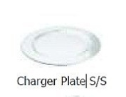 Chefset 21cm Stainless Steel Charger Plate 21cm