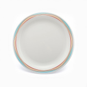 Swirls Small Patterned Plate - Pack of 4 Plates