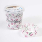 Floral Paper Cake Cases - Pack of 75