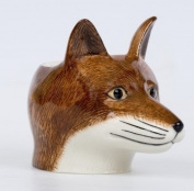 Quail Ceramics Fox Face China Egg Cup