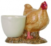 Quail Ceramics Buff Orpington Chicken Design Egg Cup
