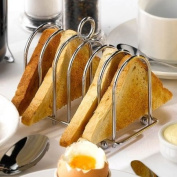 Chrome Horseshoe Toast Rack